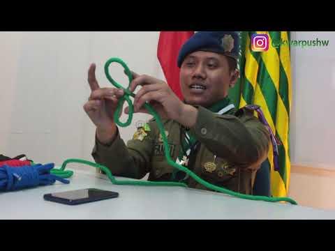 Latihan Tali Temali Simpul Jangkar Dan Simpul Pangkal Kwartir Pusat Gerakan Kepanduan Hizbul Wathan